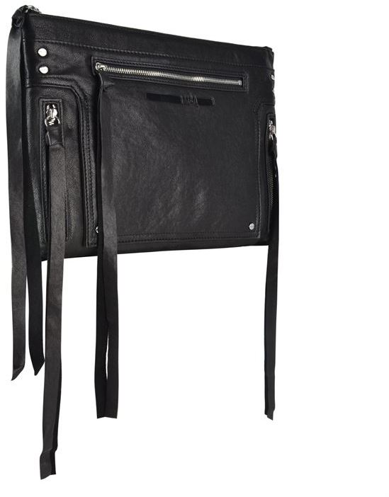 McQ Biker Pouch Clutch Bag