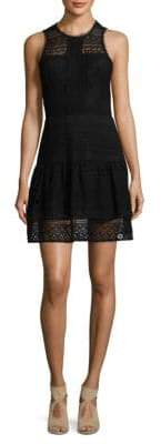 Parker Eyelet Lace Mini Dress