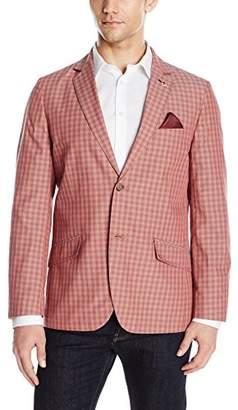 Ben Sherman Men's Two Button West End Check Blazer