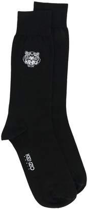 Kenzo Tiger crest socks