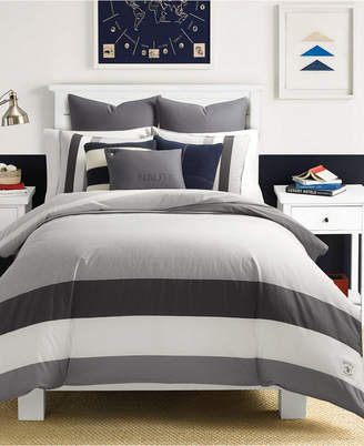 Nautica (ノーティカ) - Nautica Heritage Signal Stripe Twin Comforter Set Bedding
