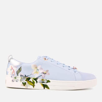6fbb4500a8b0 Ted Baker Women s Orosa Floral Low Top Trainers