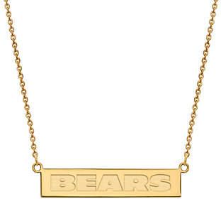 Sterling & 14K Plated NFL Bar Necklace