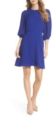 Chelsea28 Blouson Sleeve Fit & Flare Dress