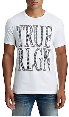 True Religion MENS CRAFTED CHAIN LOGO TEE