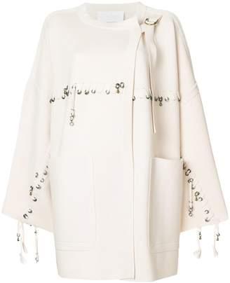 Chloé Embellished wool cardigan