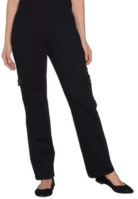 Factory Quacker Pull-On Knit Cargo Pants with Grommets
