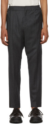 Etro Grey Active Formal Trousers