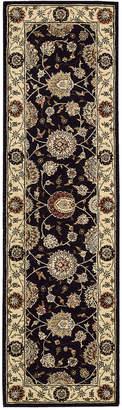 "Nourison Wool & Silk 2000 2204 2'6"" x 12' Runner Rug"