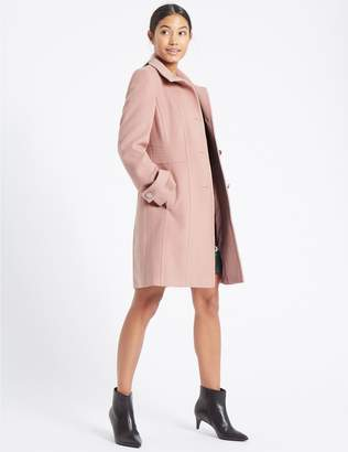 Marks and Spencer Waist Stitch Detail Coat
