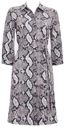 Wallis Stone Animal Shirt Dress