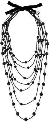 Maria Calderara ball detail layered necklace