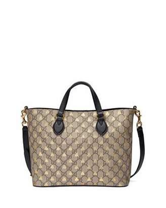 8a1a729eee1 Gucci Bestiary GG Supreme Tote Bag
