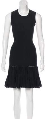 Alaia Silk Blend Mini Dress
