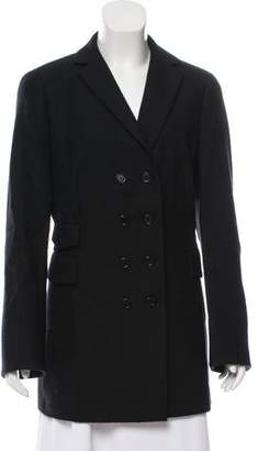 Akris Punto Wool Double-Breasted Coat