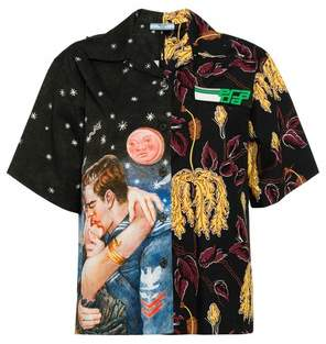 Prada Printed Cotton Poplin Shirt