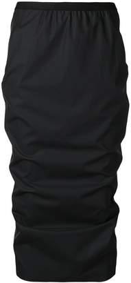 Rick Owens Lilies matte pencil skirt