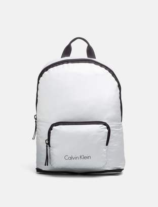 Calvin Klein logo packable backpack