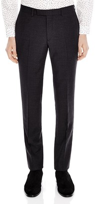 Sandro Notch 50's Slim Fit Trousers $345 thestylecure.com