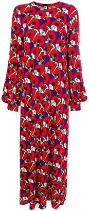 Marni flowers long dress
