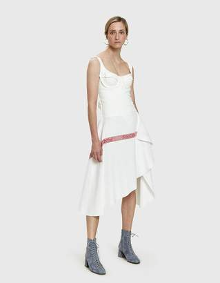 J.W.Anderson Jersey Bodice Dress