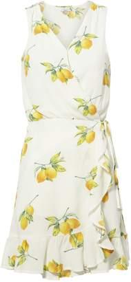 Rails Madison Lemon Wrap Dress