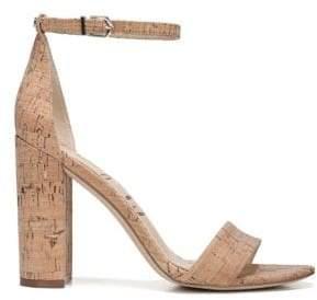 Sam Edelman Women's Yaro Cork Sandals