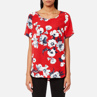 Joules Women's Hannah Printed Woven Shell Top