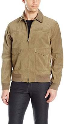 Vince Men's Suede Flight Jacket