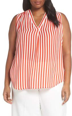 Vince Camuto Stripe Sleeveless Blouse