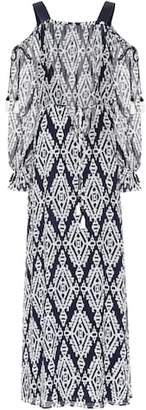 Tory Burch Katherine off-the-shoulder dress