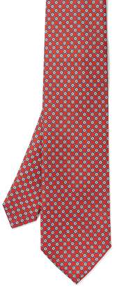 Italian Silk Tie in Mini Square $98 thestylecure.com