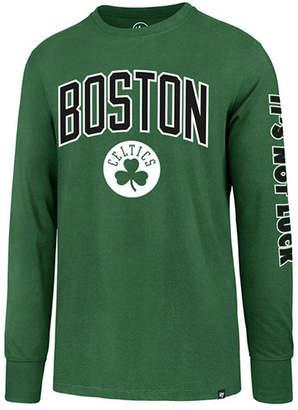 '47 Men's Boston Celtics Super Rival Team Slogan Long Sleeve T-Shirt
