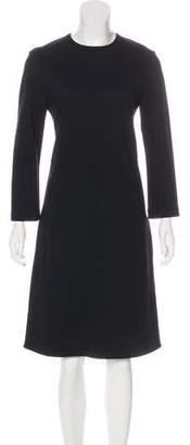 Celine Three-Quarter Midi Dress w/ Tags