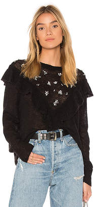 Wildfox Couture Ruffle Pullover Sweater