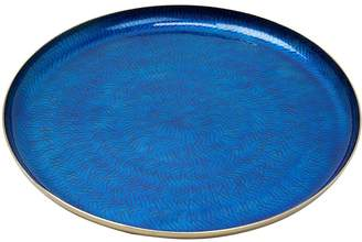 Monsoon Blue Metal Tray