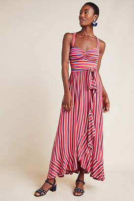 Maeve Gabriela Ruffled Maxi Dress