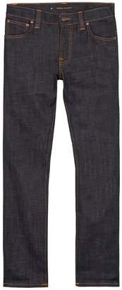 Nudie Jeans Thin Finn Indigo Slim-leg Jeans
