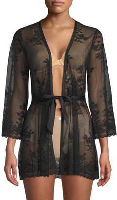 Cosabella Sheer Lace Robe