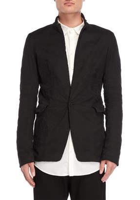 Poeme Bohemien Black Distressed Jacket