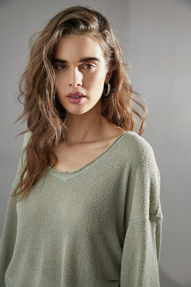 Out From Under Logan Jersey Slouchy Top