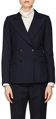 Dries Van Noten Women's Plain-Weave Double-Breasted Blazer