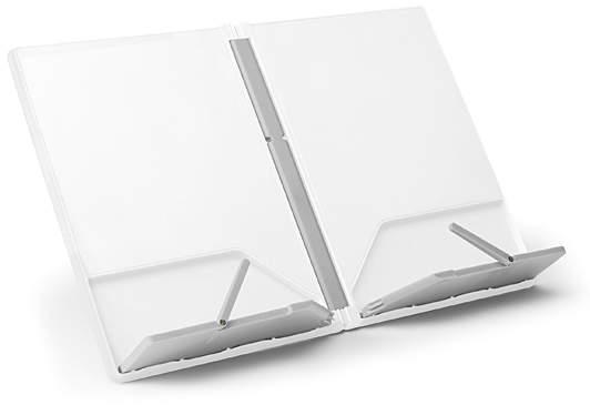White & Gray Cookbook Stand