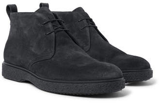 O'keeffe O'Keeffe - Ferdia Shearling-Lined Suede Desert Boots - Black
