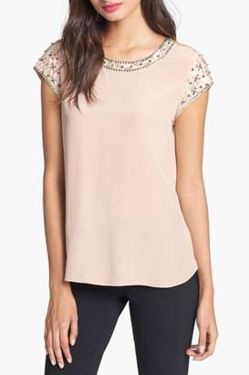 Rebecca Taylor Tee With Embellishment