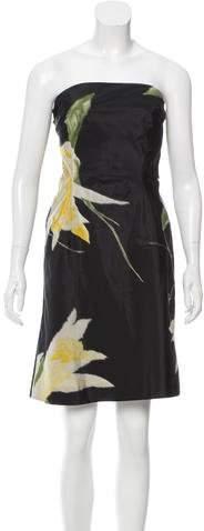 Ralph Lauren Collection Silk Jacquard Dress