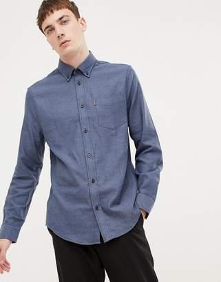 Ben Sherman slim fit twisted plain shirt