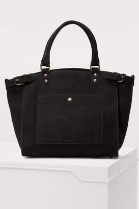 Vanessa Bruno Eclipse large calfskin leather bag