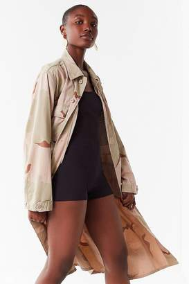 Urban Renewal Vintage Remade Camo Duster Jacket
