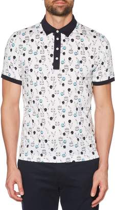Original Penguin Bowling Print Polo